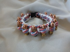item #8---Red/White/Blue with White Trim and Lined with 9mmBullets: $20.00