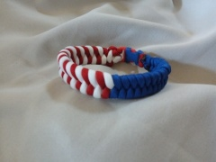 Red/White/Blue Item#3--Fishtail Bracelet: $10.00