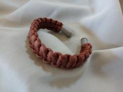 Item #4--9mm Ends Army Brown Bracelet: $10.00