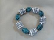 Item #3--- Aztec Style Beaded Bracelet $8.00