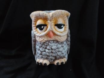 Item #V9-- Two faced Owl $15.00