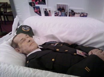 My daddy in his uniform