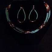 B. Native American Necklace Set $70.00