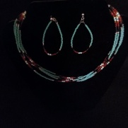 B. Native American Necklace Set $70.00