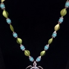 A. Turquoise Turttle Necklace $40.00