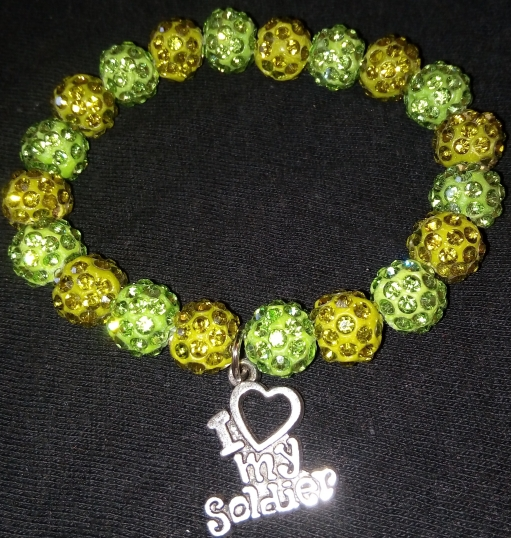 2 Tone Green Soldier $15.00