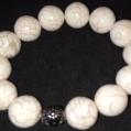S. Marble Bracelet w/ Silver accent $25.00