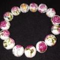 P. Rose Procelien Bracelet $25.00