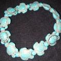 K. Turquiose Turtle Bracelet $25.00