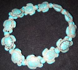 Turquiose Turtle Bracelet