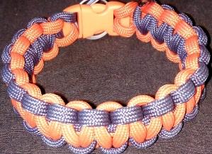 Orange & Purple Paracord